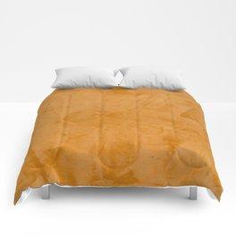 Tuscan Orange Stucco Comforters