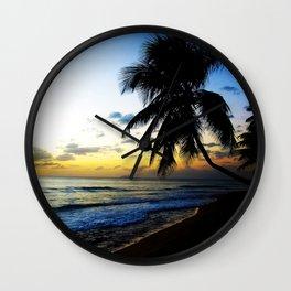 Sunset @ Rincon 2 Wall Clock
