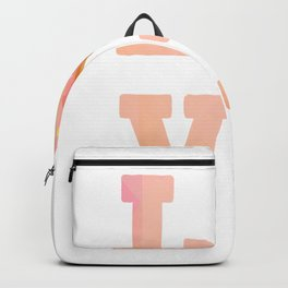 Donuts Love Heart Love Donut Beautiful gift Backpack