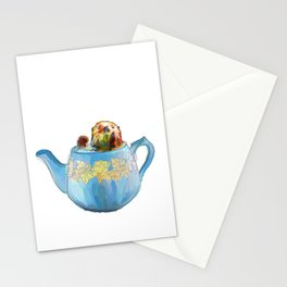 Otter Teapot Stationery Cards