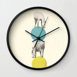 Horseplay Wall Clock