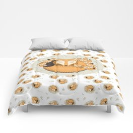 Mom fox Comforters