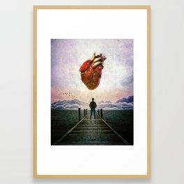 The Instrospection Framed Art Print