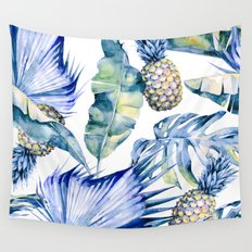 Bahamas - blue Wall Tapestry