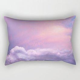 Sunset and Clouds | Blush Pink | Unicorn | Sky Rectangular Pillow