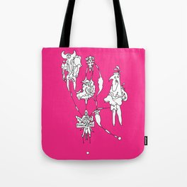 Cloud of spikes Tote Bag