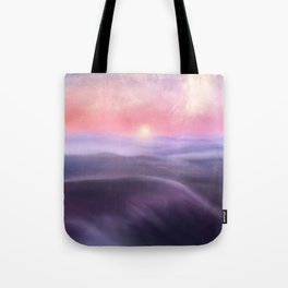 Minimal abstract landscape III Tote Bag