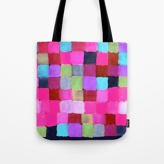 Colours passing through us Tote Bag