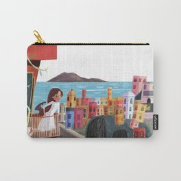 One Girl in Italy Carry-All Pouch