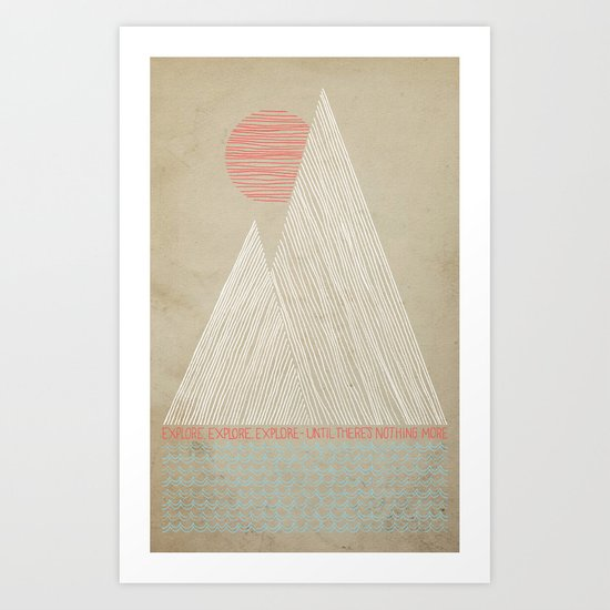 Nothing More Art Print