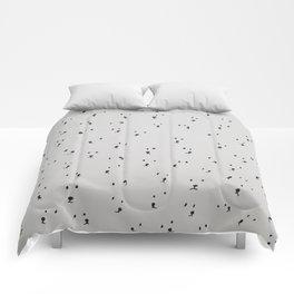 Many Curious Polar Bears Comforters