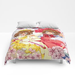 Cherry Blossom Girl Comforters