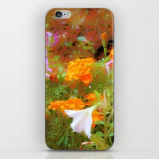 Every little garden seems to whisper a tune iPhone & iPod Skin
