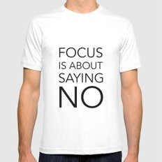 Focus is about.... Mens Fitted Tee White MEDIUM