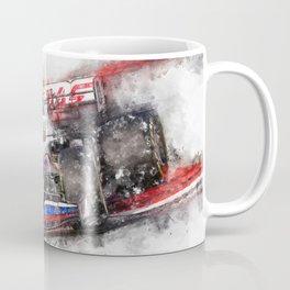 Mick Schumacher Haas 2021 Coffee Mug