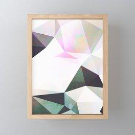 Mid Mod Geometric Pattern 1 Framed Mini Art Print