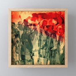 Jorge y El Dragón Framed Mini Art Print