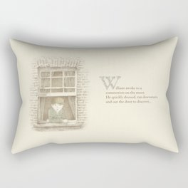 The Night Gardener - William Rectangular Pillow