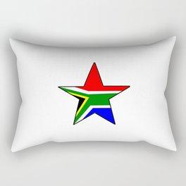 flag south africa 3,  African,Afrikaans,Mandela,apartheid, Johannesburg,Soweto,Pretoria,Durban,Tembi Rectangular Pillow