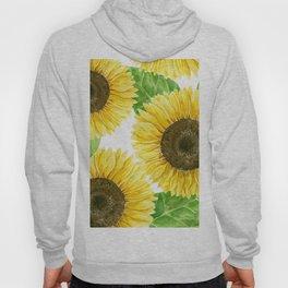Sunflowers watercolor Hoody