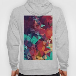 Abstract Rainbow Gem Hoody