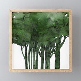 Tree Impressions No.1C by Kathy Morton Stanion Framed Mini Art Print