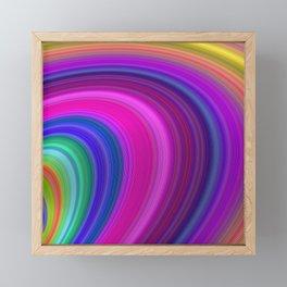 Speed Framed Mini Art Print