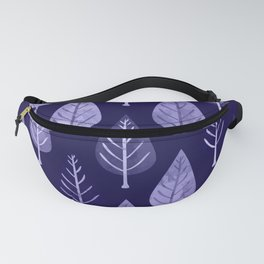 Watercolor Forest Pattern #8 Fanny Pack