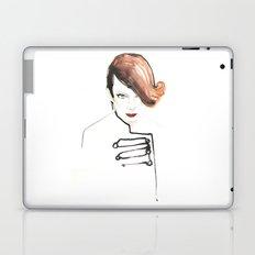 Readhead woman Laptop & iPad Skin