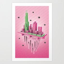 Starseed Chicago Art Print