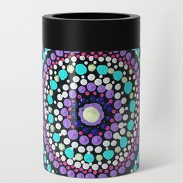 Dotted Mandala Can Cooler