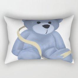 Stuffed Bear Rectangular Pillow