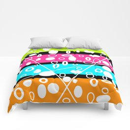Get your GLO on! Comforters
