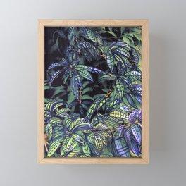 leaves evolved 4 Framed Mini Art Print