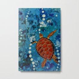 Turtle for me Metal Print