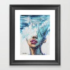 MerMind Framed Art Print