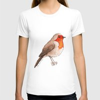 robin T-shirts featuring Robin by Lore Illustration
