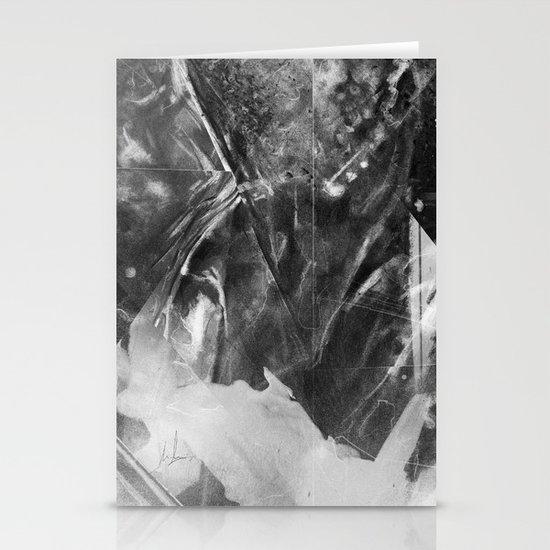 Black Crystal Stationery Cards