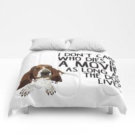 Bassett Hound Comforters