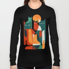 Cat Family Long Sleeve T-shirt