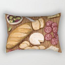 charcuterie board Rectangular Pillow