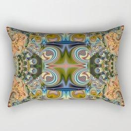 Jux art, colourful abstract Rectangular Pillow