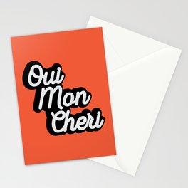 Oui Mon Cheri Stationery Cards