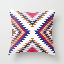 Aztec Rug Throw Pillow