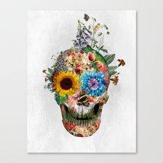 Skull - Punks Not Dead II Canvas Print