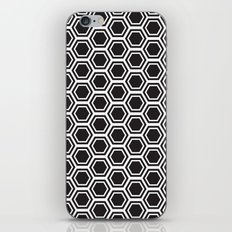 hexagon pattern iPhone & iPod Skin