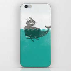 Belly of the Whale - Hipster Edition (with pirates) iPhone & iPod Skin
