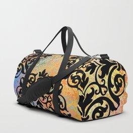 Black Mandalas Duffle Bag
