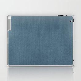 Blue Indigo Denim Laptop & iPad Skin