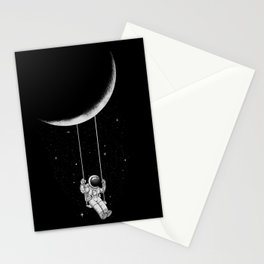 Moon Swing Stationery Cards